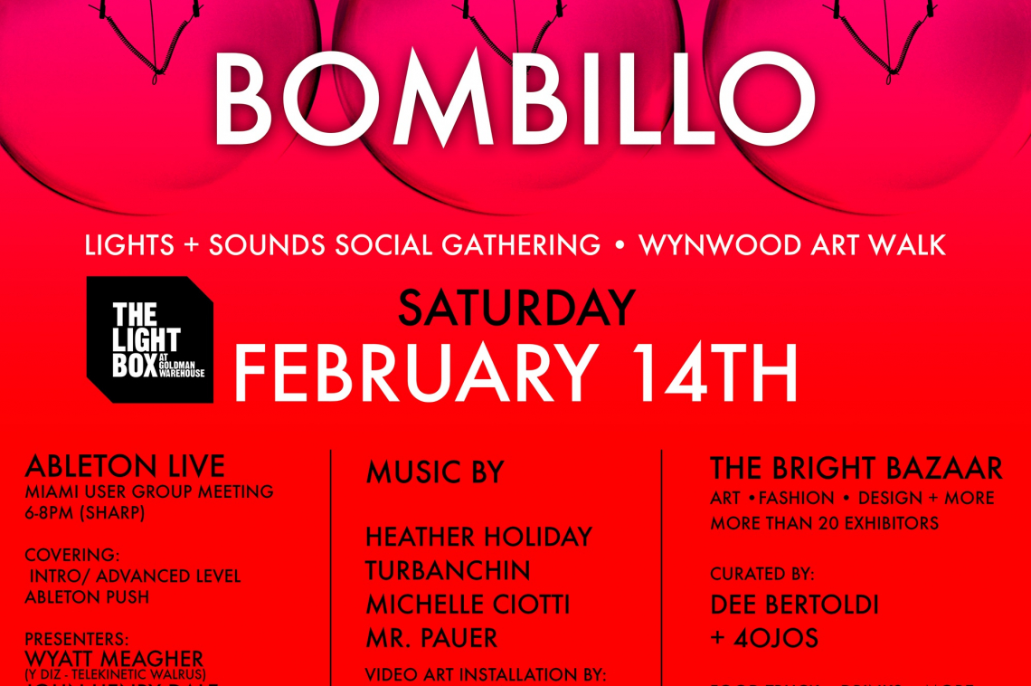 Bombillo Project at The Light Box