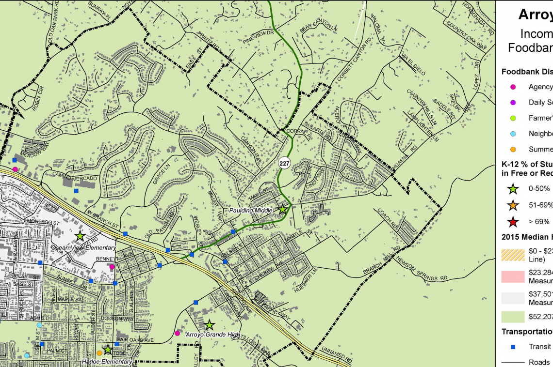 SLO Map | ArtPlace Cal Poly Slo Map on