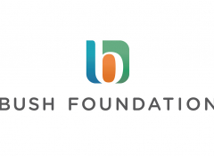 The Bush Foundation logo over white background