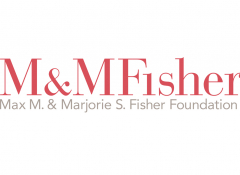 Max M. & Marjorie S. Fisher Foundation logo on a white background