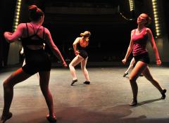 Image of three dancers
