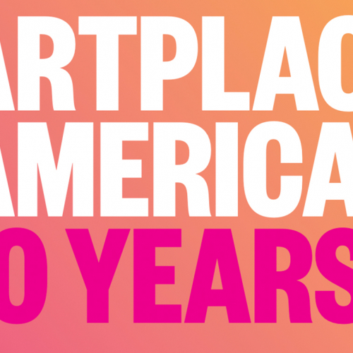 Image which reads ArtPlace America 10 Years