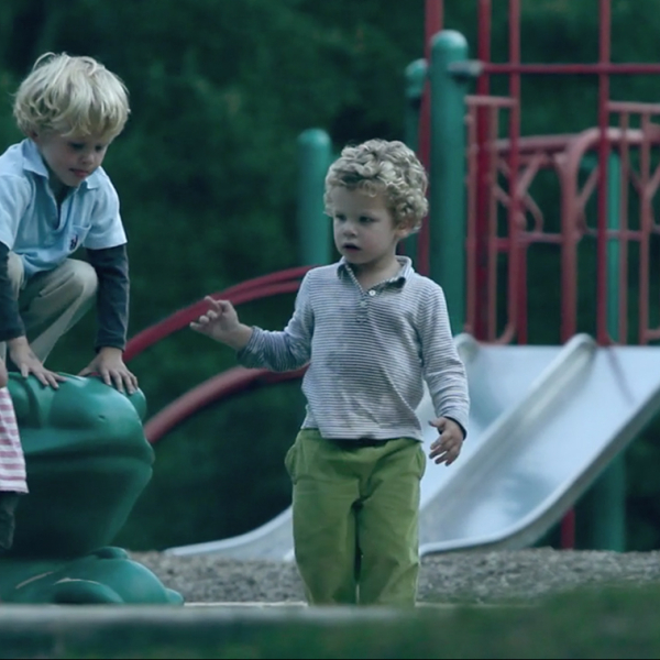 Children in a playground