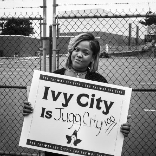 Artists at The Sanctuaries collaborate with Ivy City residents to celebrate their heritage and envision a future for all residents. Photo by the Rev. Eik W. Martinez Resly