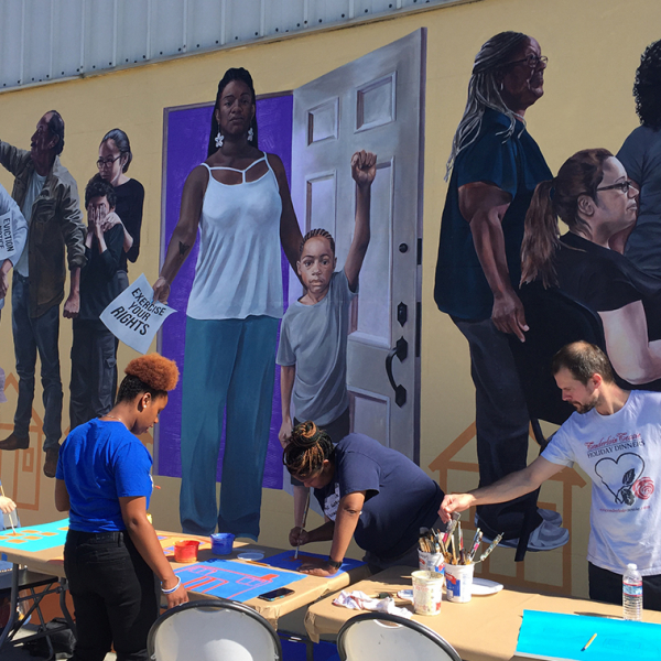 Staying Power Mural